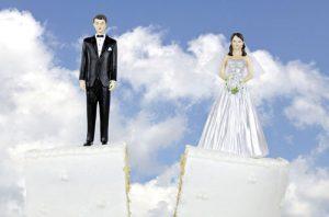کیک طلاق