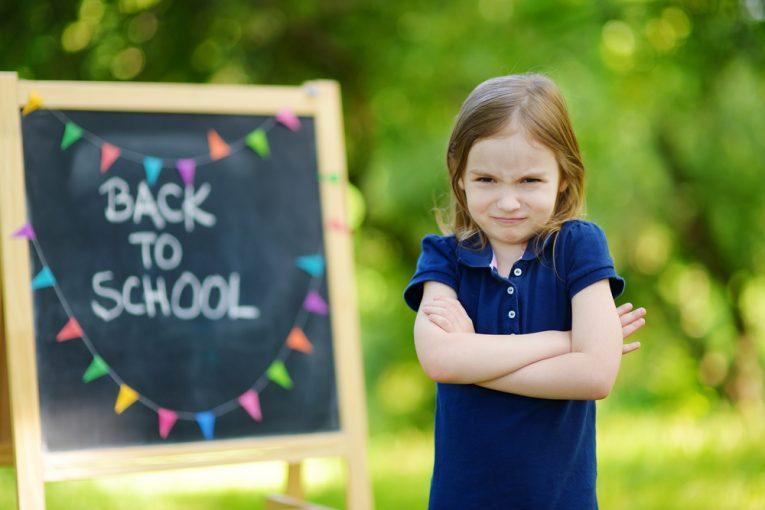 ترس از رفتن به مدرسه