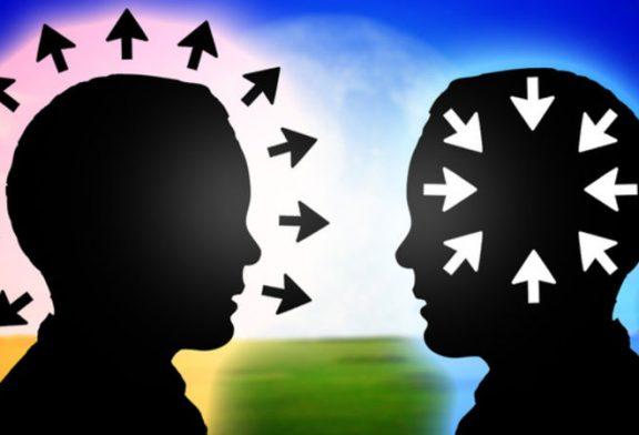 نسبت افراد برونگرا و درونگرا
