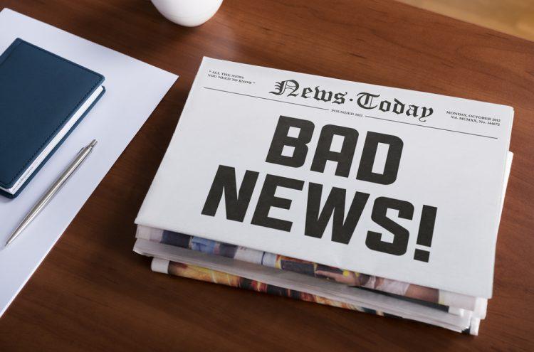 کنترل تاثیر روانی اخبار بد