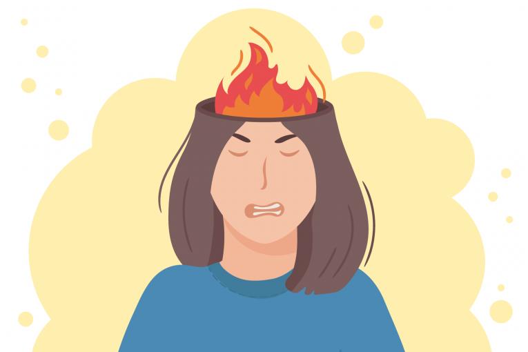 بهترین راهکار مدیریت خشم