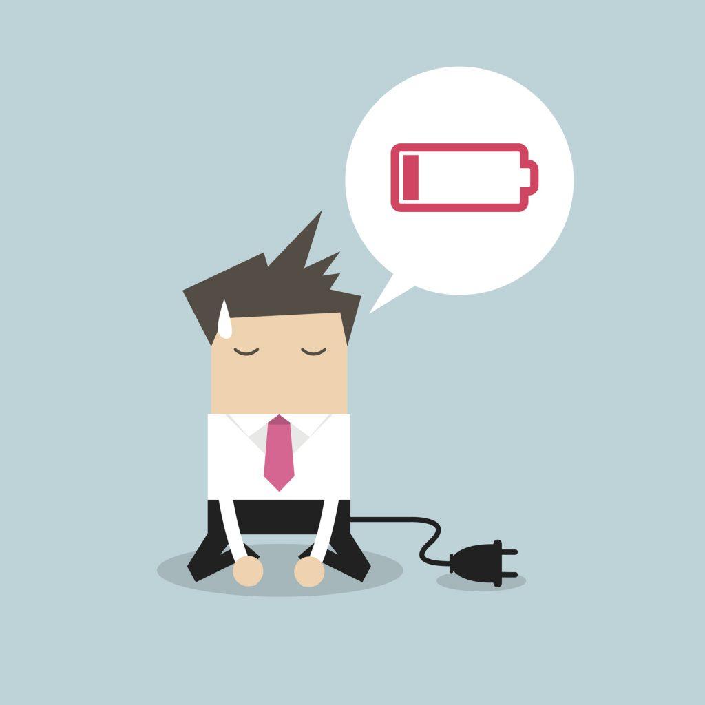 رنج بردن از خستگی مفرط