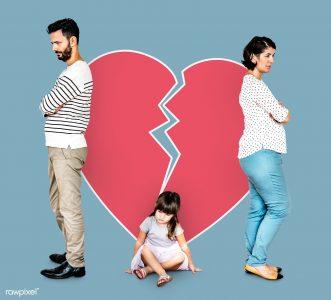 آسیب طلاق به کودکان